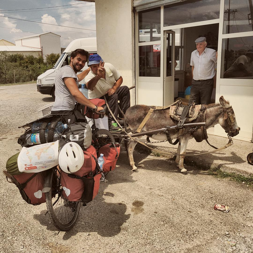 cicloturismo albania