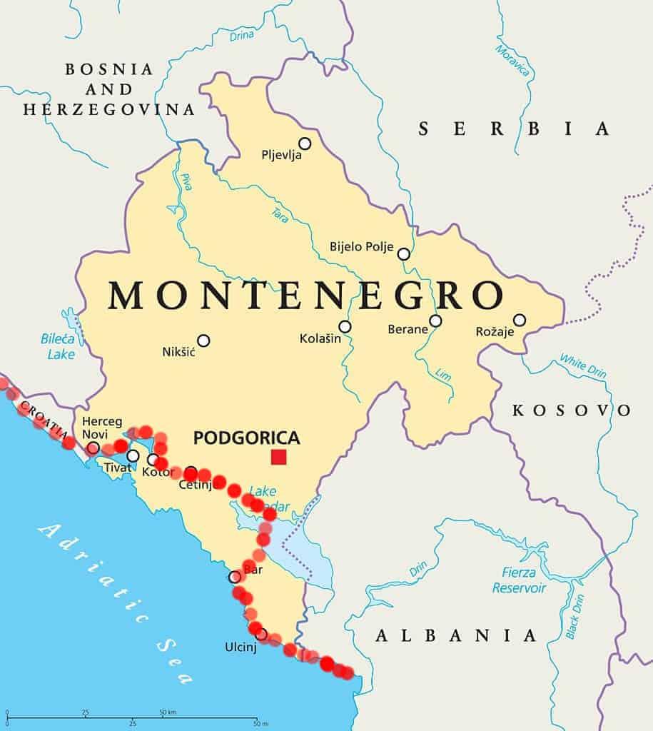 cicloturismo montenegro